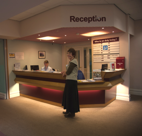 Reception Area - James Cochrane Practice